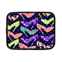 Colorful High Heels Pattern Netbook Case (small)  by DanaeStudio