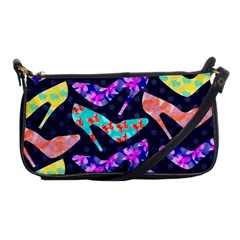 Colorful High Heels Pattern Shoulder Clutch Bags