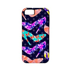 Colorful High Heels Pattern Apple iPhone 5 Classic Hardshell Case (PC+Silicone)