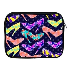 Colorful High Heels Pattern Apple Ipad 2/3/4 Zipper Cases by DanaeStudio