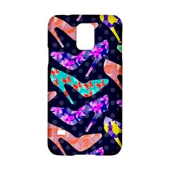 Colorful High Heels Pattern Samsung Galaxy S5 Hardshell Case