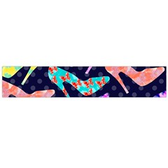 Colorful High Heels Pattern Flano Scarf (Large)