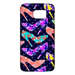 Colorful High Heels Pattern Galaxy S6