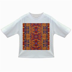 Oriental Watercolor Ornaments Kaleidoscope Mosaic Infant/Toddler T-Shirts