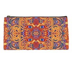 Oriental Watercolor Ornaments Kaleidoscope Mosaic Pencil Cases by EDDArt