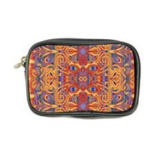 Oriental Watercolor Ornaments Kaleidoscope Mosaic Coin Purse by EDDArt