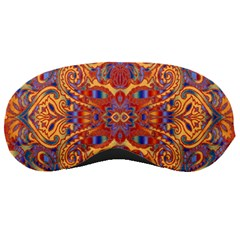 Oriental Watercolor Ornaments Kaleidoscope Mosaic Sleeping Masks
