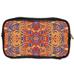 Oriental Watercolor Ornaments Kaleidoscope Mosaic Toiletries Bags