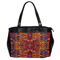 Oriental Watercolor Ornaments Kaleidoscope Mosaic Office Handbags