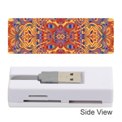 Oriental Watercolor Ornaments Kaleidoscope Mosaic Memory Card Reader (Stick)