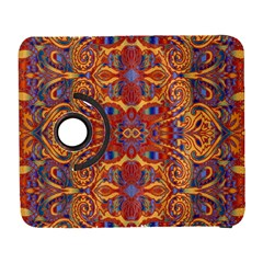 Oriental Watercolor Ornaments Kaleidoscope Mosaic Samsung Galaxy S  Iii Flip 360 Case by EDDArt