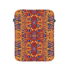 Oriental Watercolor Ornaments Kaleidoscope Mosaic Apple Ipad 2/3/4 Protective Soft Cases by EDDArt