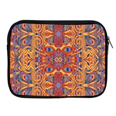 Oriental Watercolor Ornaments Kaleidoscope Mosaic Apple iPad 2/3/4 Zipper Cases
