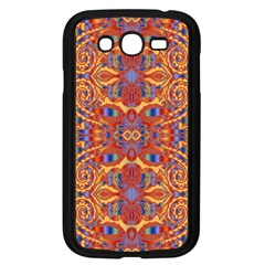 Oriental Watercolor Ornaments Kaleidoscope Mosaic Samsung Galaxy Grand DUOS I9082 Case (Black)