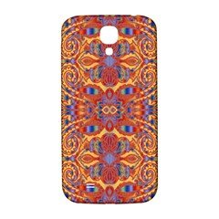 Oriental Watercolor Ornaments Kaleidoscope Mosaic Samsung Galaxy S4 I9500/I9505  Hardshell Back Case