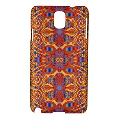 Oriental Watercolor Ornaments Kaleidoscope Mosaic Samsung Galaxy Note 3 N9005 Hardshell Case
