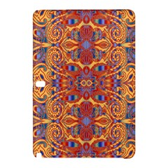 Oriental Watercolor Ornaments Kaleidoscope Mosaic Samsung Galaxy Tab Pro 10 1 Hardshell Case by EDDArt