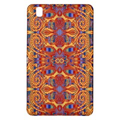Oriental Watercolor Ornaments Kaleidoscope Mosaic Samsung Galaxy Tab Pro 8 4 Hardshell Case by EDDArt