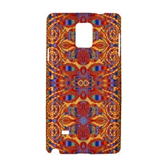 Oriental Watercolor Ornaments Kaleidoscope Mosaic Samsung Galaxy Note 4 Hardshell Case