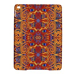 Oriental Watercolor Ornaments Kaleidoscope Mosaic Ipad Air 2 Hardshell Cases by EDDArt