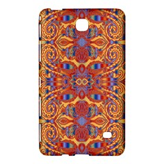 Oriental Watercolor Ornaments Kaleidoscope Mosaic Samsung Galaxy Tab 4 (7 ) Hardshell Case  by EDDArt