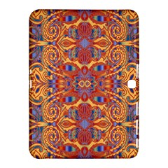 Oriental Watercolor Ornaments Kaleidoscope Mosaic Samsung Galaxy Tab 4 (10 1 ) Hardshell Case  by EDDArt
