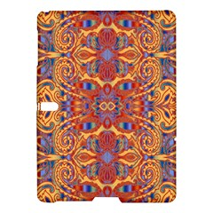 Oriental Watercolor Ornaments Kaleidoscope Mosaic Samsung Galaxy Tab S (10 5 ) Hardshell Case  by EDDArt