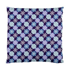 Snowflakes Pattern Standard Cushion Case (one Side) by DanaeStudio