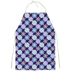Snowflakes Pattern Full Print Aprons