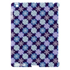 Snowflakes Pattern Apple iPad 3/4 Hardshell Case (Compatible with Smart Cover)
