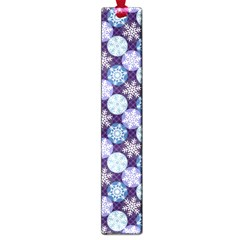 Snowflakes Pattern Large Book Marks