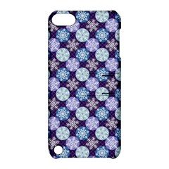 Snowflakes Pattern Apple Ipod Touch 5 Hardshell Case With Stand by DanaeStudio