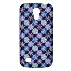 Snowflakes Pattern Galaxy S4 Mini by DanaeStudio