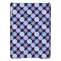 Snowflakes Pattern Ipad Air Hardshell Cases by DanaeStudio