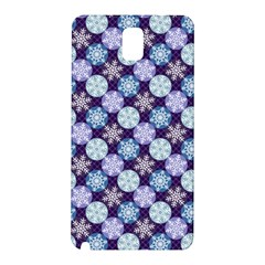 Snowflakes Pattern Samsung Galaxy Note 3 N9005 Hardshell Back Case