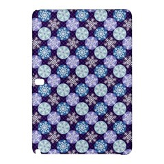 Snowflakes Pattern Samsung Galaxy Tab Pro 10 1 Hardshell Case by DanaeStudio