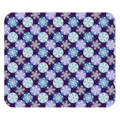 Snowflakes Pattern Double Sided Flano Blanket (small)  by DanaeStudio