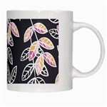 Winter Beautiful Foliage  White Mugs Right