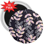 Winter Beautiful Foliage  3  Magnets (10 pack)  Front