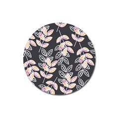 Winter Beautiful Foliage  Magnet 3  (round) by DanaeStudio
