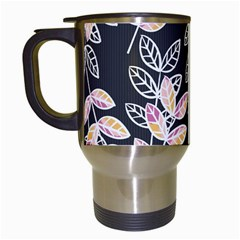 Winter Beautiful Foliage  Travel Mugs (white) by DanaeStudio