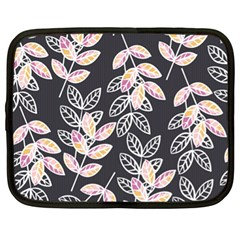 Winter Beautiful Foliage  Netbook Case (xl)  by DanaeStudio