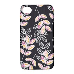 Winter Beautiful Foliage  Apple Iphone 4/4s Hardshell Case With Stand by DanaeStudio