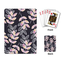 Winter Beautiful Foliage  Playing Card by DanaeStudio
