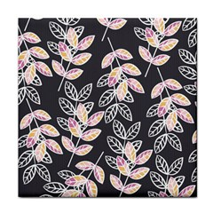 Winter Beautiful Foliage  Face Towel by DanaeStudio