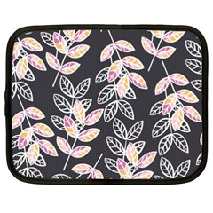 Winter Beautiful Foliage  Netbook Case (xxl)  by DanaeStudio