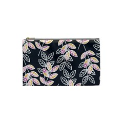 Winter Beautiful Foliage  Cosmetic Bag (small)  by DanaeStudio