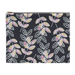Winter Beautiful Foliage  Cosmetic Bag (xl) by DanaeStudio