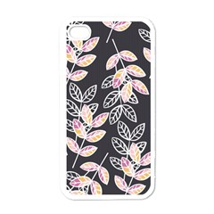 Winter Beautiful Foliage  Apple Iphone 4 Case (white) by DanaeStudio