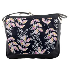 Winter Beautiful Foliage  Messenger Bags by DanaeStudio